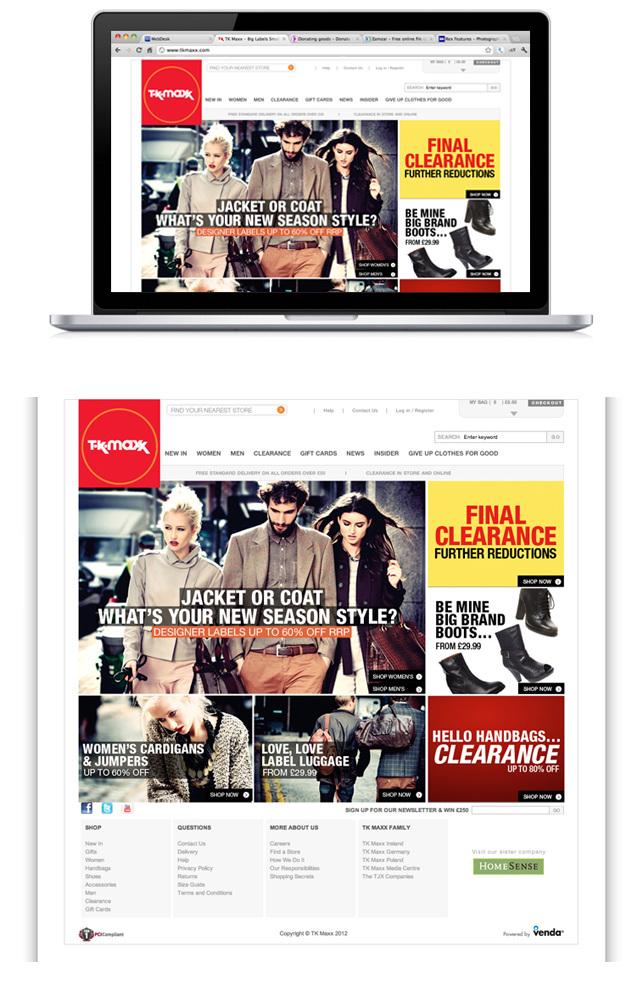 TK-MAXX - ADRIANA SOARES // freelance senior integrated designer.