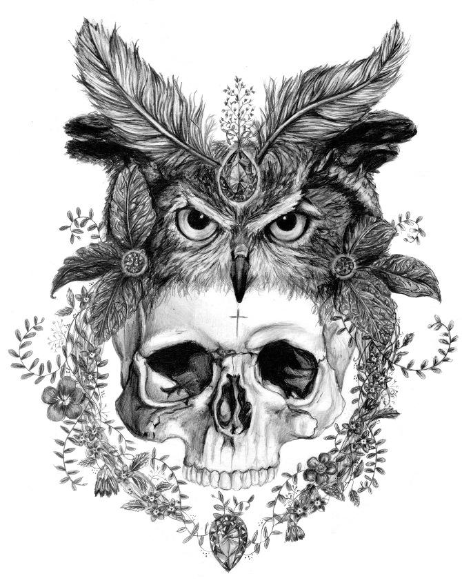 animal skull headpiece